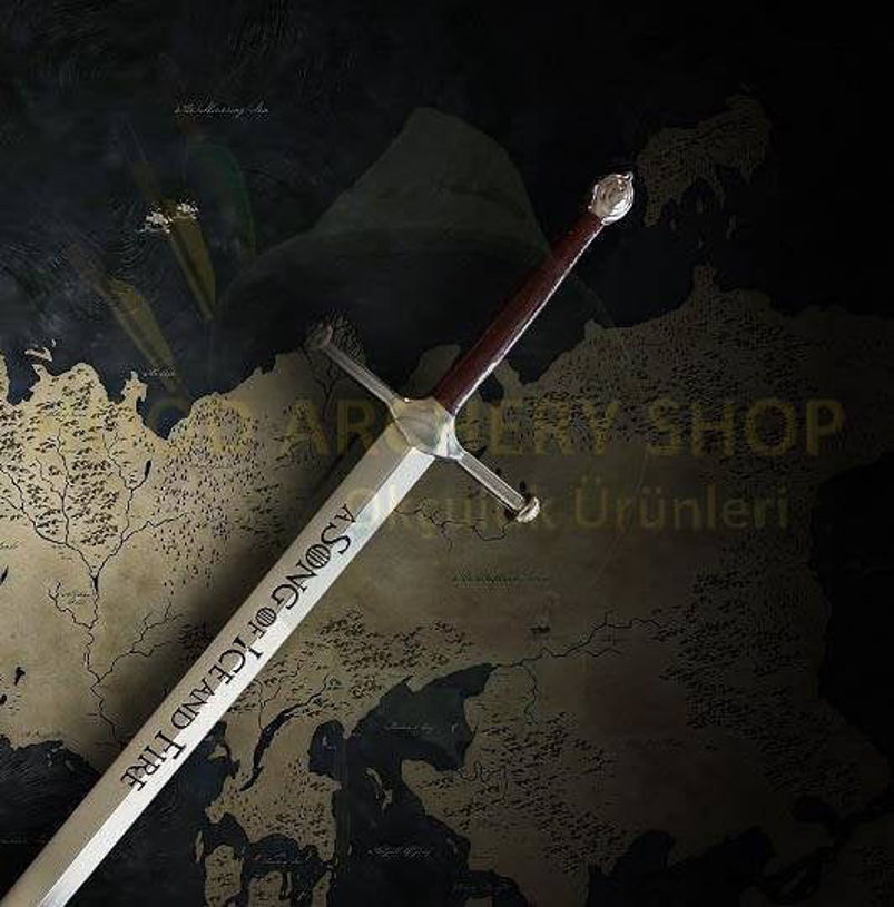 Picture of Game Of Thrones Letter Opener Miniature Ice Sword Ned Eddard Stark 8inches