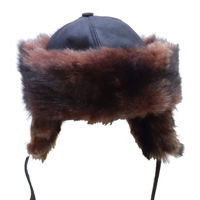 Picture of Resurrection Ertugrul Alp Bork Hat Ottoman Horseback Archery Leather Hat Medieval Fantasy