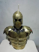 Picture of Spartan Roman Steel Muscle Breast Plate Set Medieval Warrior Armor Cosplay Knight Historical Medieval Battle armor