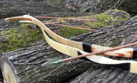Turkish Laminated Horse Archery Bow Wooden Traditional Medieval Recurve Ottoman Bow for Target Archery Or Hunting Archery Hunger Games. ürün görseli