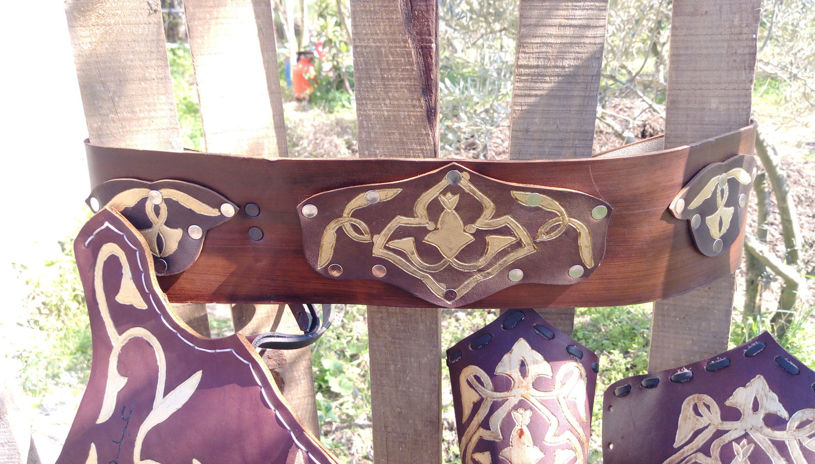 Picture of Leather Turkish  Warrior Belt