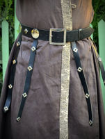 Leather Turkish  Warrior Belt. ürün görseli