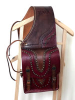 Picture of SaddleBag Traditional Western Saddle Horse Bag