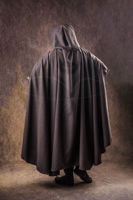 Picture of Medieval Elven Cloak Lord Of The Rings Cosplay Costume Hooded Cloak